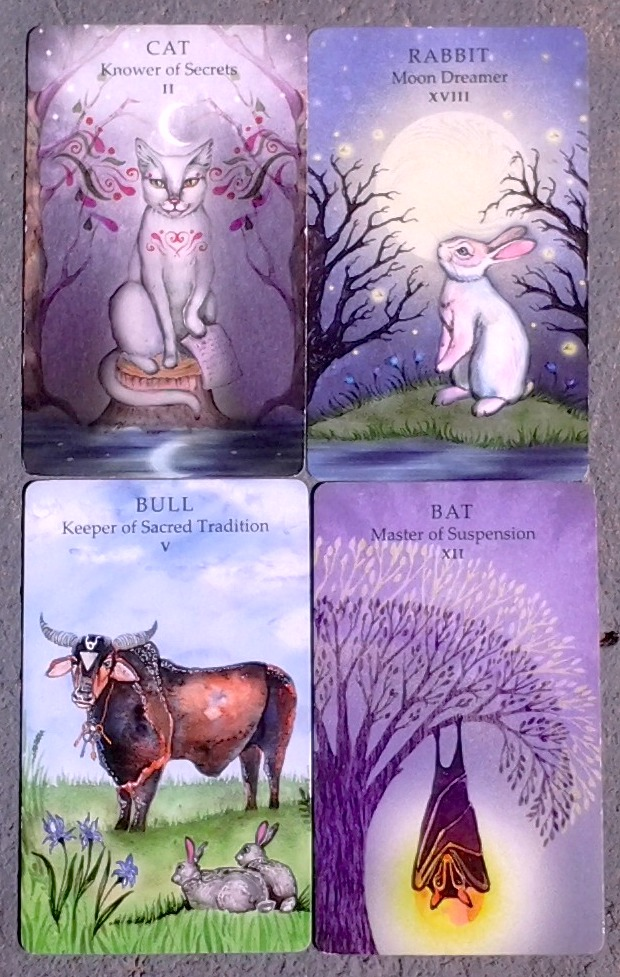 Animal Wisdom Tarot Dark Moon